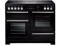 RANGEMASTER Platinum 110 Electric Induction Range Cooker - Black & Chrome