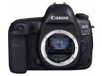 !!!!! CANON EOS 5D Mark IV DSLR Camera - Black ((Bran new )))...............