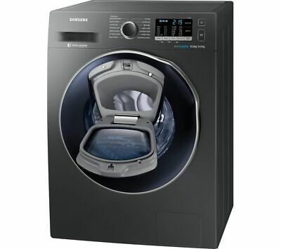 SAMSUNG AddWash WD80K5B10OX 8 kg Washer Dryer - Graphite - Currys