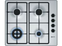 BRAND NEW - BOXED - NEFF T26BR56N0 Gas Hob - Stainless Steel