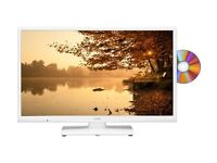 "BRAND NEW TV - LOGIK L24HEDW15 - 24"" LED TV WITH BUILT-IN DVD PLAYER - COST £149.99 - ACCEPT £95"