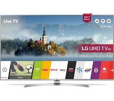 "LG 49UJ701V 49"" Smart 4K Ultra HD HDR LED TV - Silver"