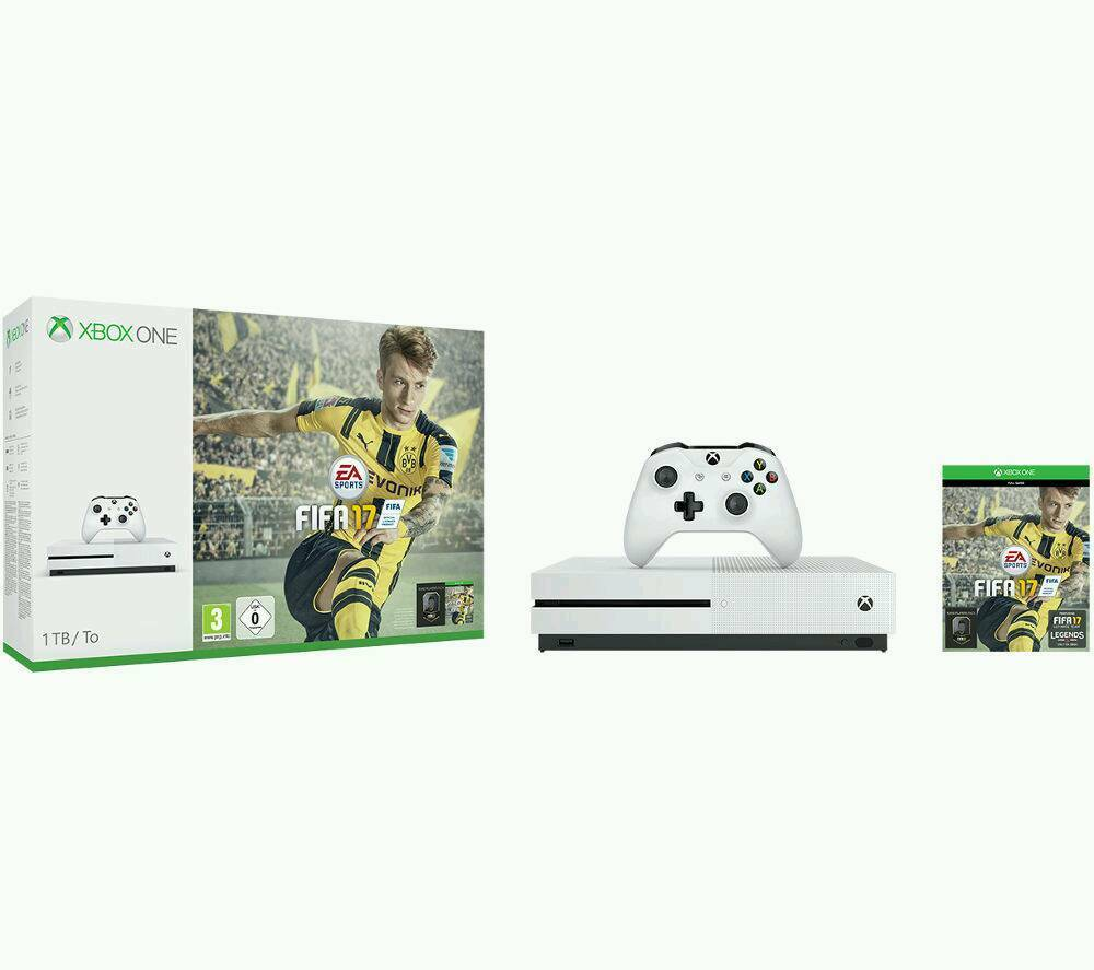 Xbox 1 s 500gb with fifa 17