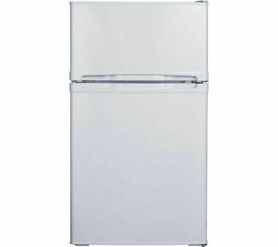 ESSENTIALS CUC50W18 70/30 Fridge Freezer - White - Currys