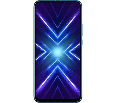 """HONOR 9X 128GB 6.6"""" 48/8/2MP Unlocked Android Smartphone - Sapphire Blue"""