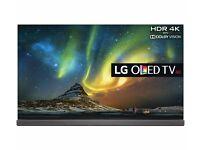 """LG OLED65G6V Smart 3D 4k Ultra HD HDR 65"""" OLED TV"""