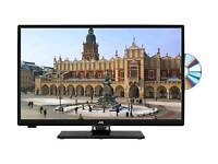 "JVC Smart 23.6"" LED TV + Built-in DVD Player"