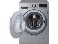 LG FH4A8TDH4N Washer Dryer 1400 rpm A 8 kg / 5 kg- Silver