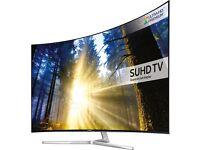 SAMSUNG UE49KS9000 QUANTUM DOT DISPLAY SMART LED SUHD HDR 2400 PQI FREESAT &FREEVIEW HD!!