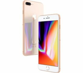 Apple iPhone 8 Plus Gold Unlocked SimFree Brand New 64GB Ready to Collect or Local Delivery