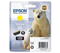 Epson Genuino Xp-700 Xp-710 Amarillo Cartucho De Tinta - epson - ebay.es