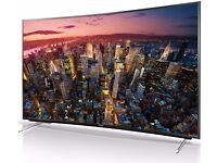 Panasonic TX55CR430B 55 Inch 4K LED Curved 3D Television with Built In WIFI