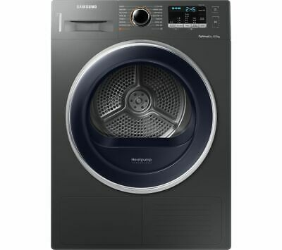 SAMSUNG DV80M5010QX/EU 8 kg Heat Pump Tumble Dryer - Graphite - Currys