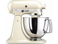 Unopened KITCHENAID - Artisan 5KSM150PSBLT Stand Mixer - Café Latte