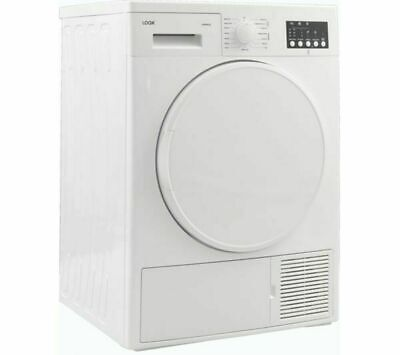 LOGIK LHP8W18 8 kg Heat Pump Tumble Dryer - White