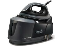 BRAND NEW STEAM IRON by MORPHY RICHARDS POWER STEAM ELITE 332001 - BOXED - COST £149.99 - ACCEPT £85