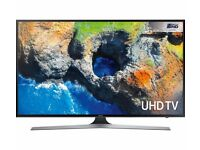 Samsung 40 Inch LED Smart TV - 4K Ultra HD - with Built-In WiFi and Freeview HD