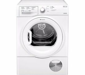NEW 9KG HOTPOINT AQUARIUS TCFS93BGP CONDENSER DRYER (FREE DELIVERY)