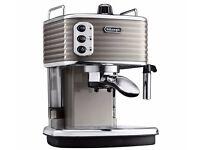 DELONGHI Scultura ECZ351BG Espresso Machine Champagne coffee machine