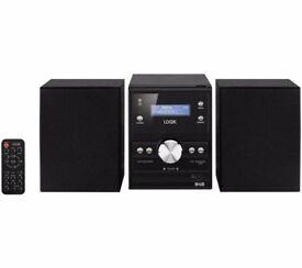 Logik DAB CD & FM Micro Hi-Fi System LHFDAB14