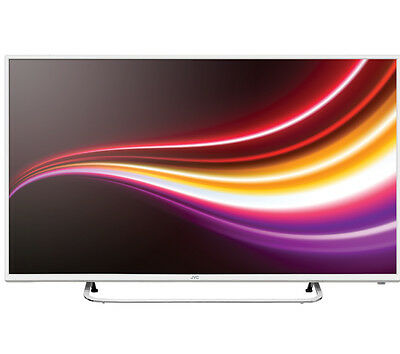 "JVC LT-32C461 32"" LED TV White HD Ready 720p Freeview HD Tuner HDMI x 2"