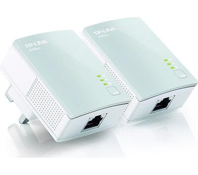 TP-LINK TL-PA4010KIT AV600 Powerline Adapter Twin Pack White Ethernet Port