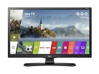 New 28 inch smart tv