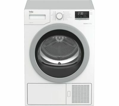 BEKO Pro DHX83420W 8 kg Heat Pump Tumble Dryer - White - Currys