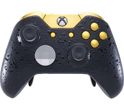 MICROSOFT Xbox Elite Wireless Controller - 3D Black & Gold - Currys
