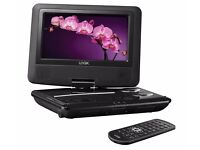 "Logik L7SPDVD11 Portable DVD Player (7"") Multi Region - SPARES AND REPAIRS"