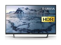 SONY BRAVIA 43-inch Smart FHD HDR ACTIVE LED TV-43WE753,built in Wifi,Freeview,Netflix,Fully Working