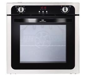NEW WORLD NW602MF STA Electric Oven - Black & Stainless Steel ex display /1