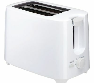 ESSENTIALS C02TW17 2-Slice Toaster - White - Currys