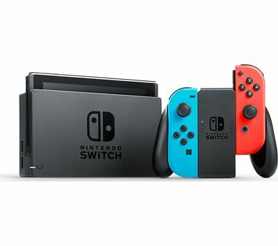 NINTENDO Switch Neon Red - Currys