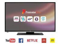 49- Inch JVC SMART WIFI-BUILTIN TV -- EXCELLENT CONDITION