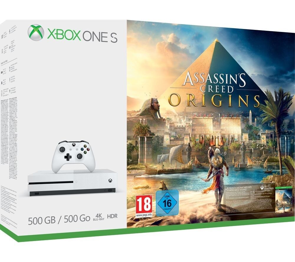 Xbox One S 500GB Assassins Creed Origins bundle w/ Batllefront, GTA V and  Gears of War 2 | in Bath, Somerset | Gumtree