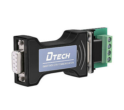Dtech Rs232 To Rs485 Serial Adapter Converter Rx Tx Communication With Board