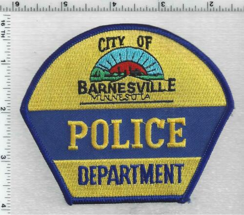 City of Barnesville Police (Minnesota) 2nd Issue Shoulder Patch