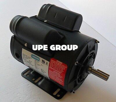LEESON  5HP SPL 15AMP COMPRESSOR MOTOR 230 VAC 3450 RPM 5/8
