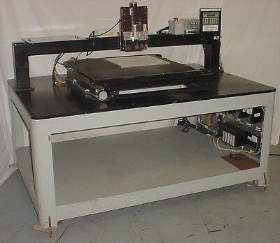 Maple Systems Dci Hm 32x32 Platform X-y-z Positioning Table Motorized Stage