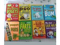 Eight Mitchell Simons kids books