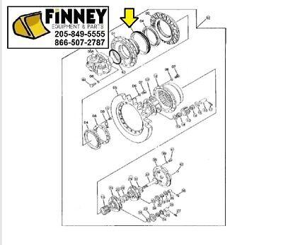 4179741 John Deere Duo Cone Seal 490d 493d Ex120-1 Ex100-1 Final Drive Excavator