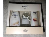 Dove Love Collection with Scented Candle