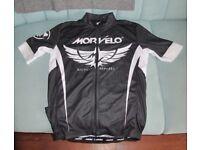 Morvelo cycling jersey - medium full zip