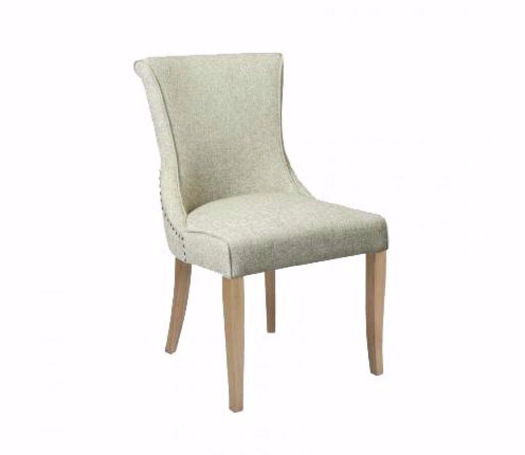 Carlton Accent Natural Chair Natural Legs set of 2