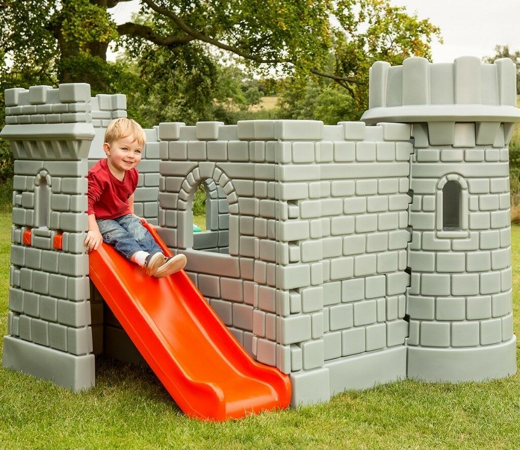 Little Tikes Clic Castle With Slide Garden Outdoor Activity Play House Toy Rrp 349 00