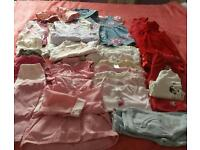 Girls large bundle Age 9-12 months