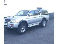 2003 Mitsubishi L200 warrior for sale £2500