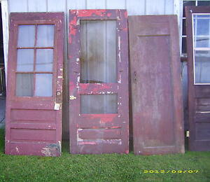 Vintage Architectural Salvage Doors-More not in picture