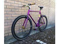 Fixie / single speed / size large - 58cm